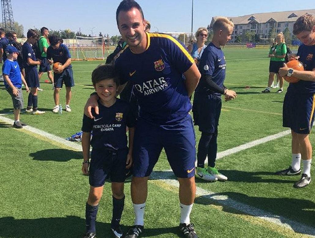 WSA Winnipeg's Massimo Pansini invited to Train with Barcelona