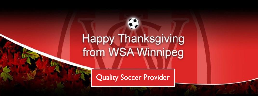 Happy thanksgiving from wsa winnipeg